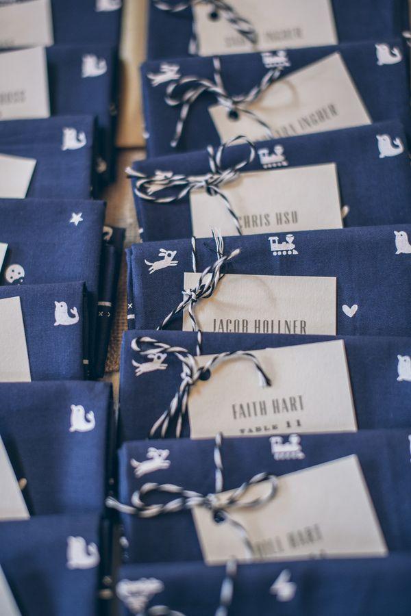 navy escort cards - photo by Gather West ruffledblog.com/... #weddingideas #esco...