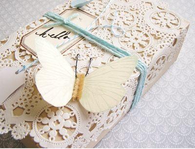 paper lace wrap