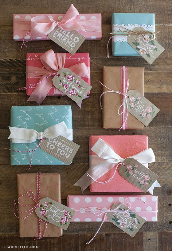 pastel wrapping