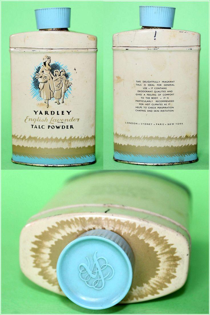 Mom Birthday Gifts Vintage YARDLEY English Lavender Talcum Powder