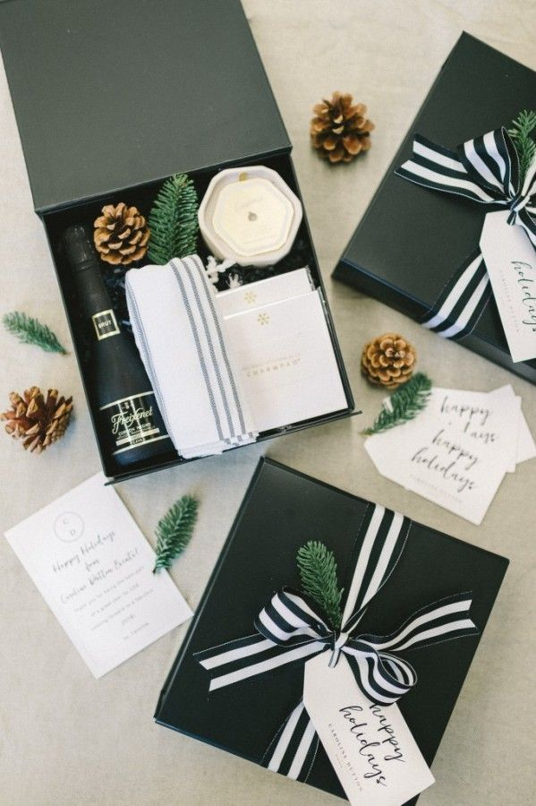 GUIDE TO HOLIDAY CLIENT GIFTING by Marigold & Grey    #corporategifts #clientgif...