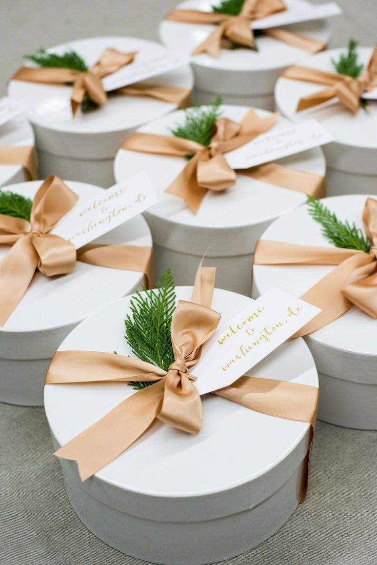 Best Corporate Gifts Ideas WELCOME GIFT BOXES// Welcome guests to Washington, DC...