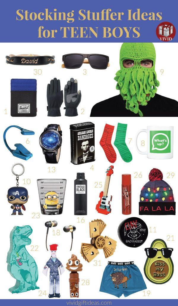 Birthday Gifts For Teenagers Cool Cheap And Popular To Fill His Christmas Stocking Holiday Teens F