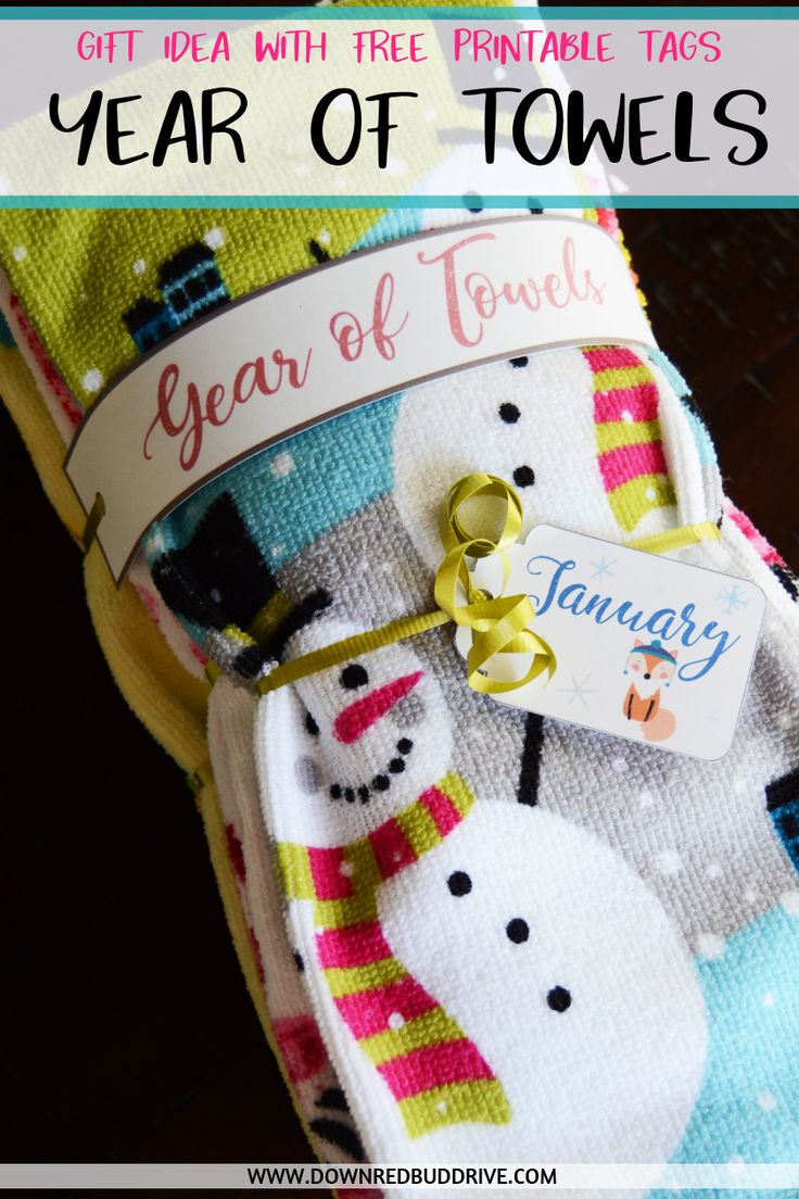DIY Gifts Ideas : Year of Towels | DIY Gift Idea | DIY Christmas ...