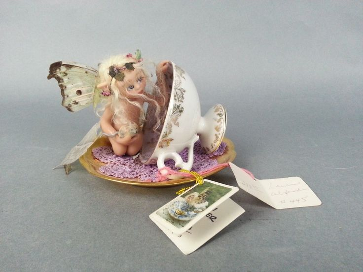 Mom Birthday Gifts 1997 LAUREN ALEXANDER Dolls Teacup Fairy CHERI