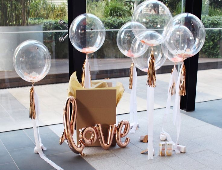 Confetti bubble balloons   The Heyday Club   corporate gifting