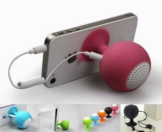 Corporate Gifts Ideas     Cell Phone Speaker and Stand…#Business #cmo #Marketi...