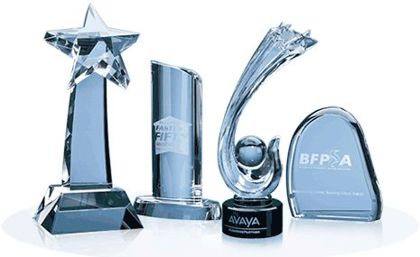 Why Engraved Glass Awards Are the Great Choice