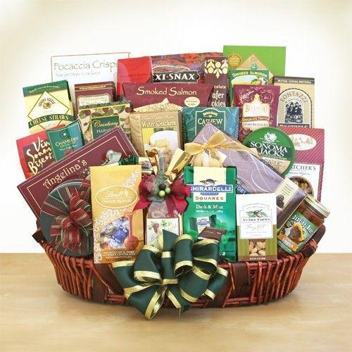 Ghirardelli Gourmet VIP Gift BasketPrice: $208.99 Free Shipping #amerigiftbasket...