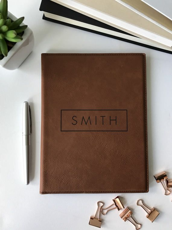 Personalized Leather Journal, Gifts For Him, Corporate Gift, Husband, Boyfriend ...