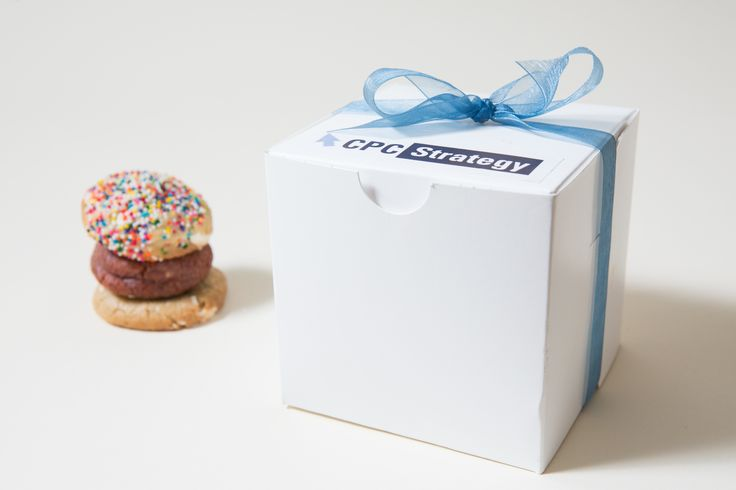 The perfect corporate gift from The Cravory Cookies! #cookies #corporate #gift #...