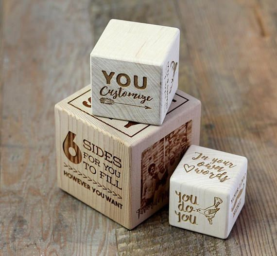 You Design It! Totally Custom Wooden Block For Gift Special Occasion Corporate G...