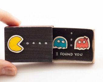 Carte danniversaire carte - Tetris - amour geek  Cette liste est pour une boîte...