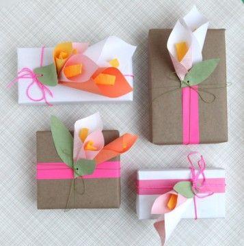 So beautiful! www.retailpackagi... #giftwrap #wrappingpaper #DIY #pretty