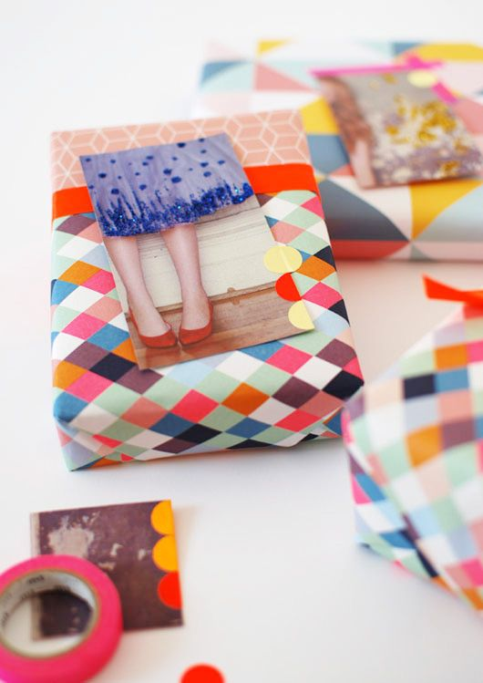 make me: gift tags from magazine pages decor8blog.com/...