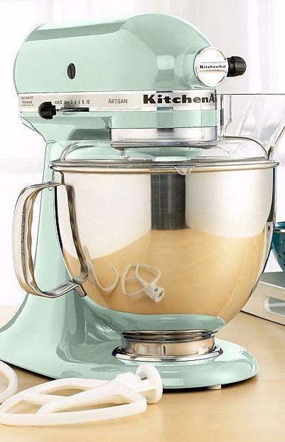 KitchenAid KSM150PS Stand Mixer, 5 Qt. Artisan in Mint rstyle.me/~1cB6n