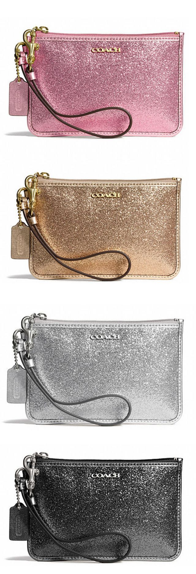 Sparkly wristlets - I'll take one in each color, please!
