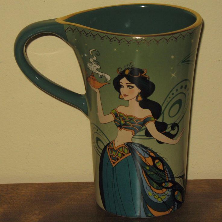 Mom Birthday Gifts JASMINE Aladdin Coffee Mug Disney Store Cup