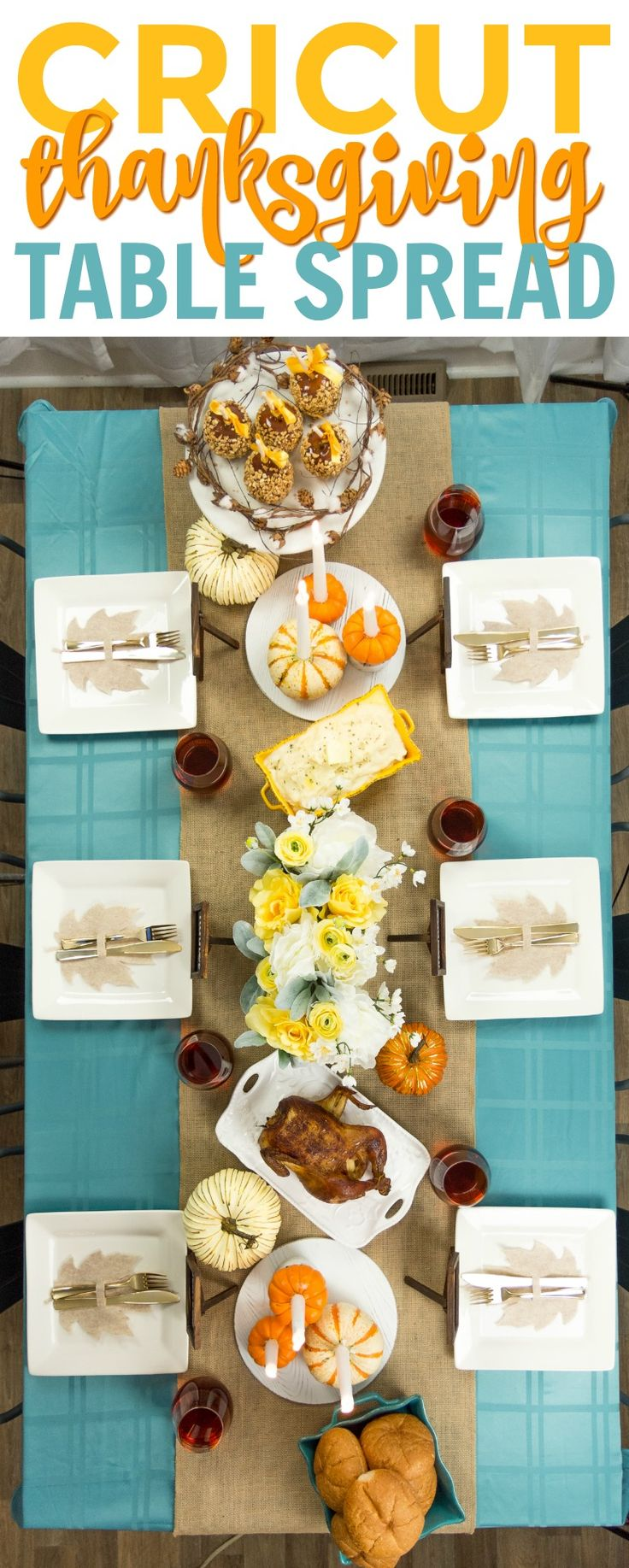 I am so excited to share this year's Thanksgiving Table Spread with you all. ...