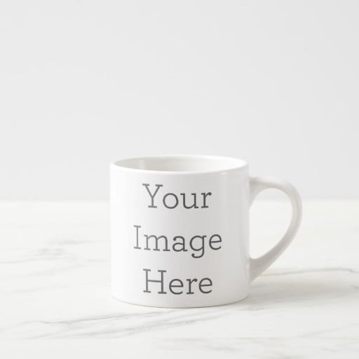 Create Your Own Espresso Cup