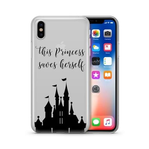 This Princess Saves Herself iPhone & Samsung Case