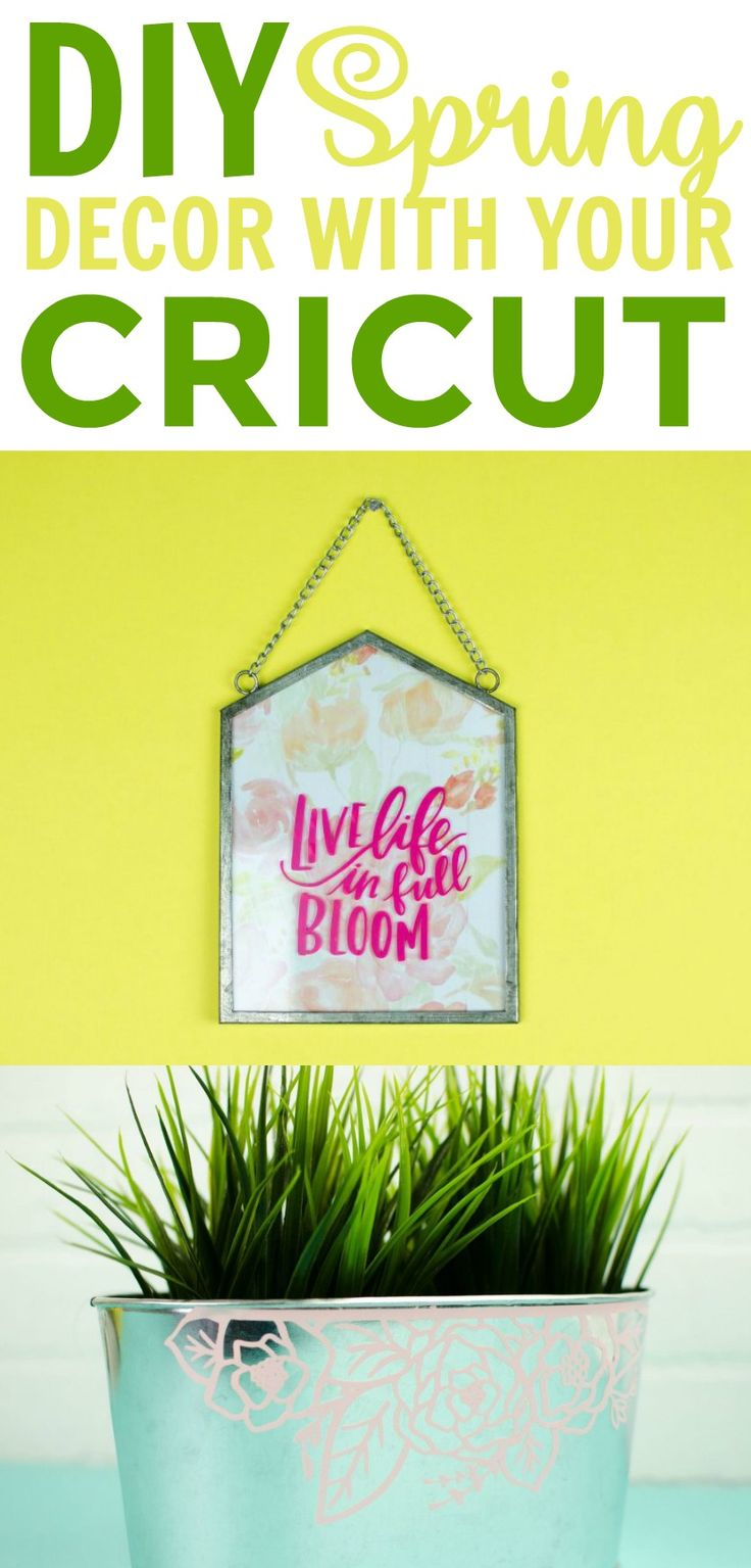 I thought it would be fun to show you guys how to make some fun DIY Spring Decor...