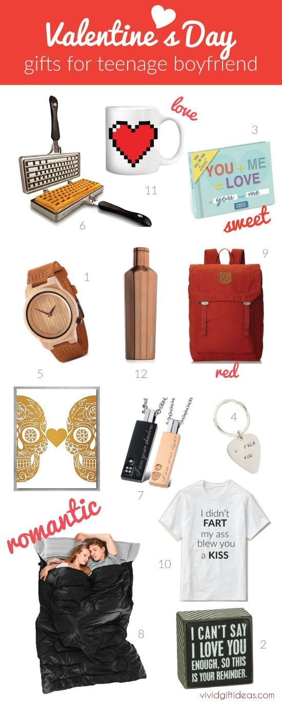 Inexpensive and cute gifts for teen boys #ValentinesDayideas