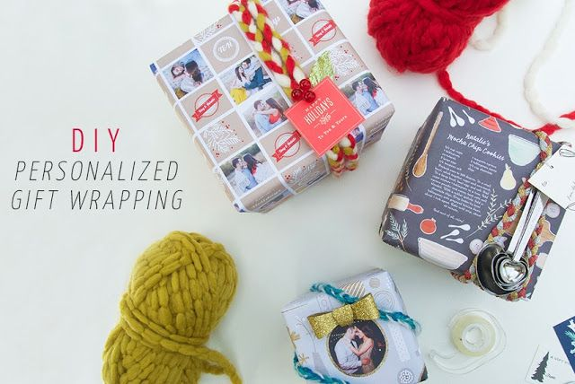 DIY: Personalized Gift Wrapping + $125 Minted Giveaway! (ends 12/24/13)