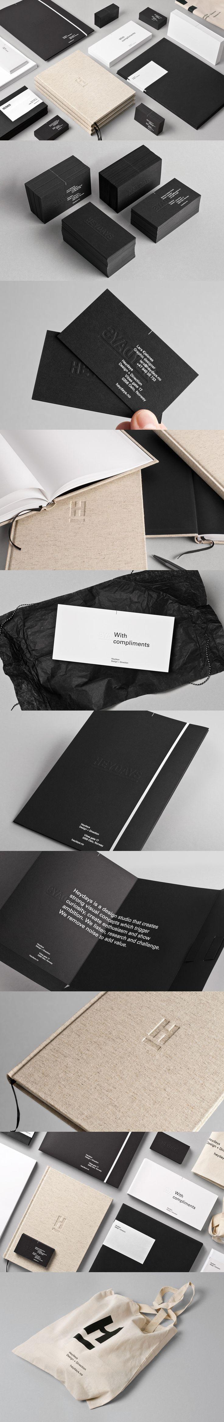 Heydays branding  design identity
