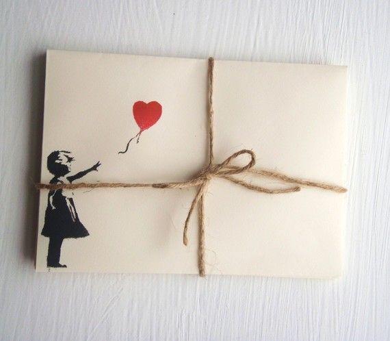 How cute!!! Envelopes