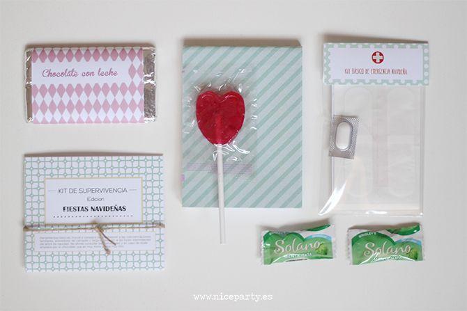 Nice Party Kit de superviviencia edición navideña regalo de empresa