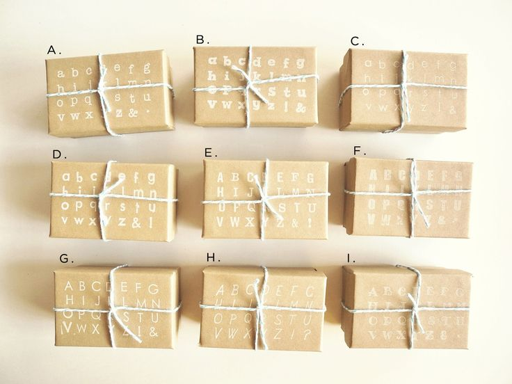 alphabet wrap