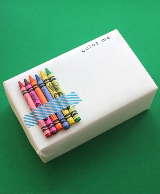 gift wrap for kids. Especially useful at huge Christmas parties where they have ...