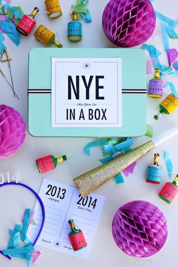 new year's eve in a box.