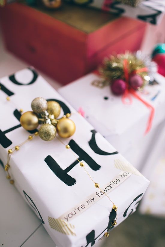 wrapping paper party | designlovefest