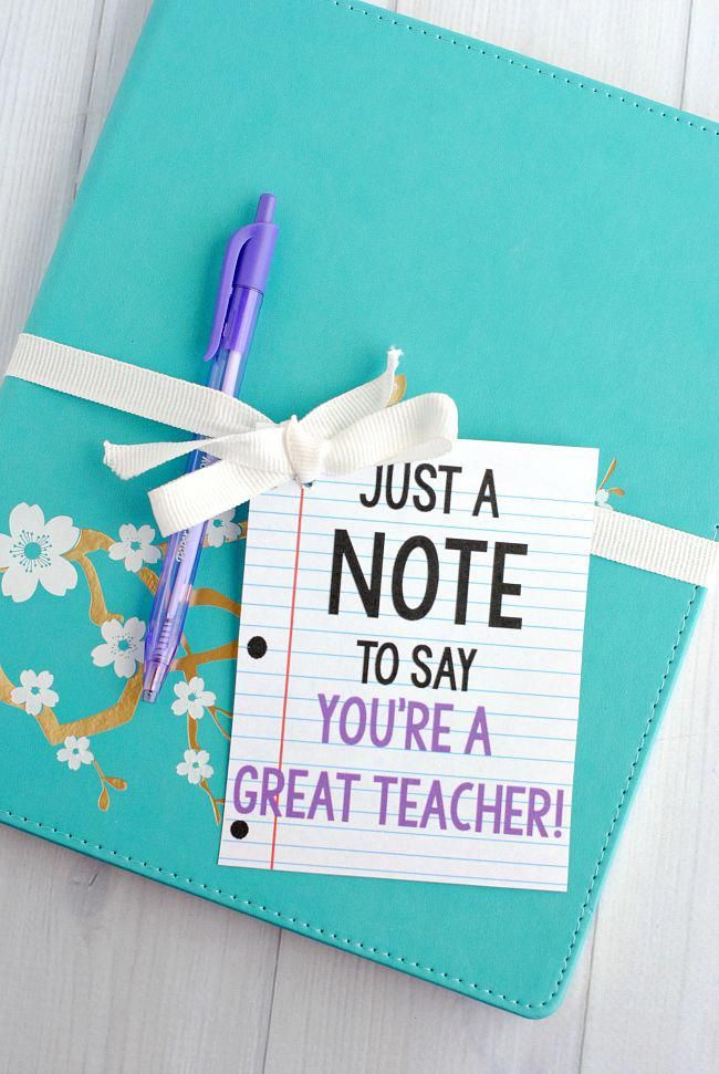 Teacher Thankfulness Long weekend Gift Suggestions to Say Thanks. #teachergiftsB...