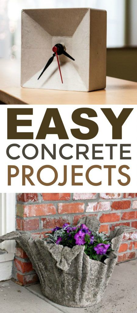 I thought today I would round up some of my favorite Easy Concrete Projects. The...