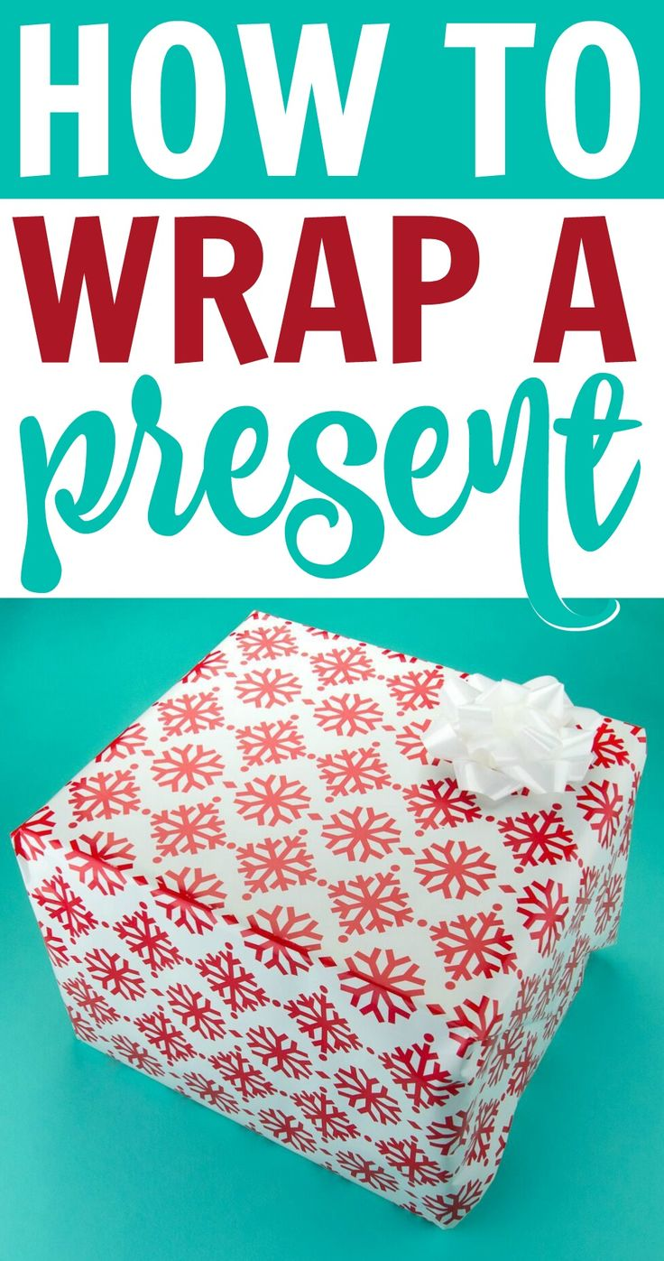 This post on How To Wrap a Present will blow your mind and take your gift wrappi...