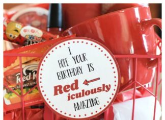 DIY Gifts Ideas This Is A Red Iculously Fun Birthday Gift That Perfect
