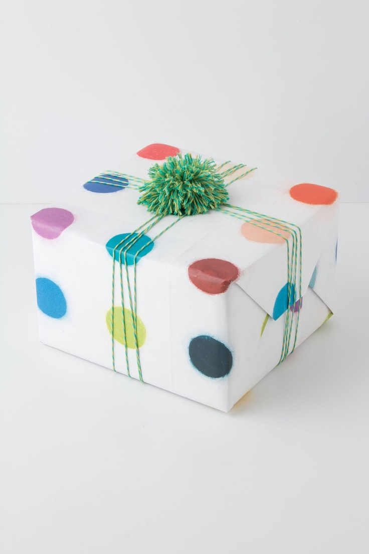 Homage Wrapping Paper / Anthropologie.com #gifts