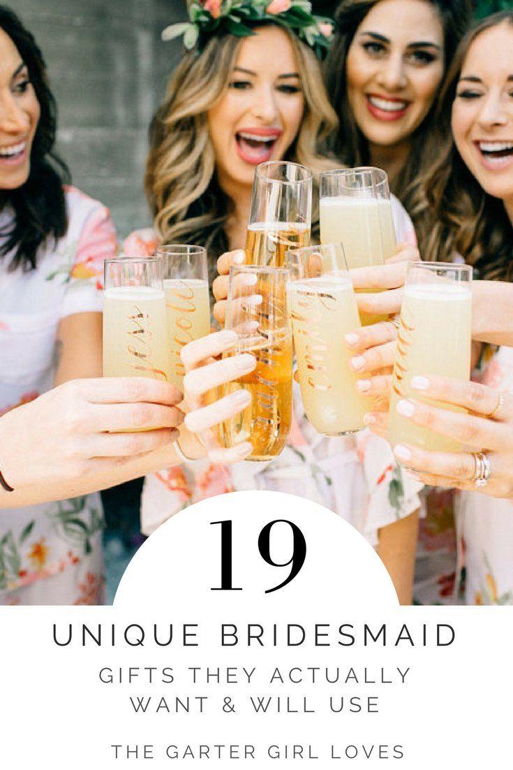 Garter Girl Loves: Unique Bridesmaid Gift Ideas