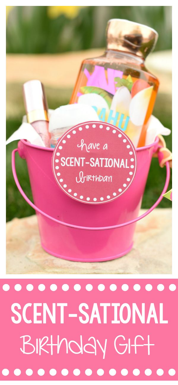 Cute Birthday Gift Idea for Friends-This fun birthday gift is perfect to give to...