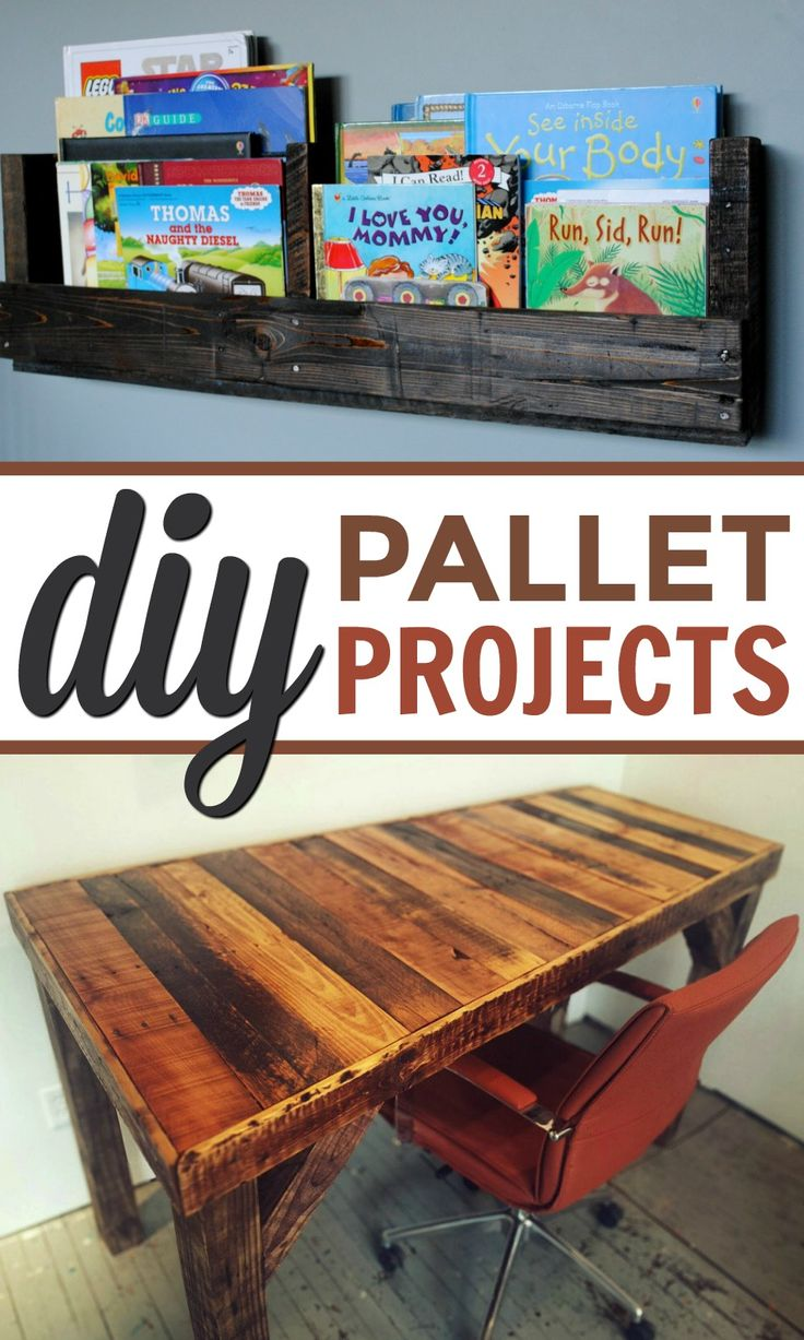 One of my favorite things to use when crafting is pallets. I love  to make palle...