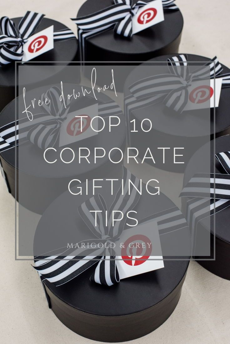 DIY CORPORATE GIFTS// Top corporate gifting ideas and inspiration to curate prof...