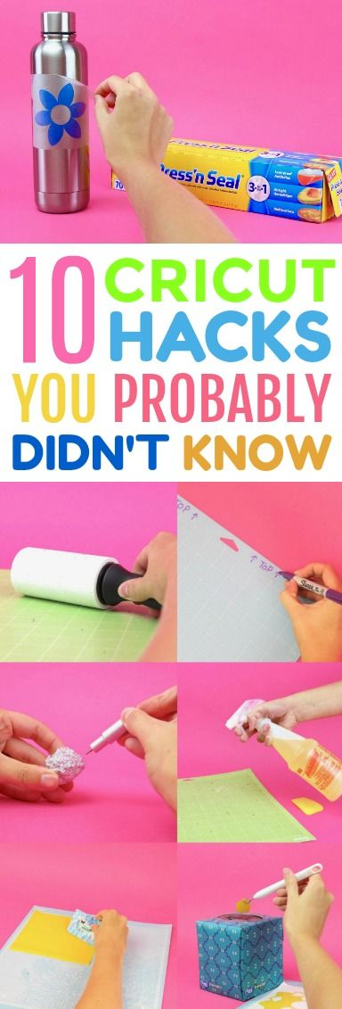 From transfer paper alternatives to ways to get more use out of your Cricut mats...