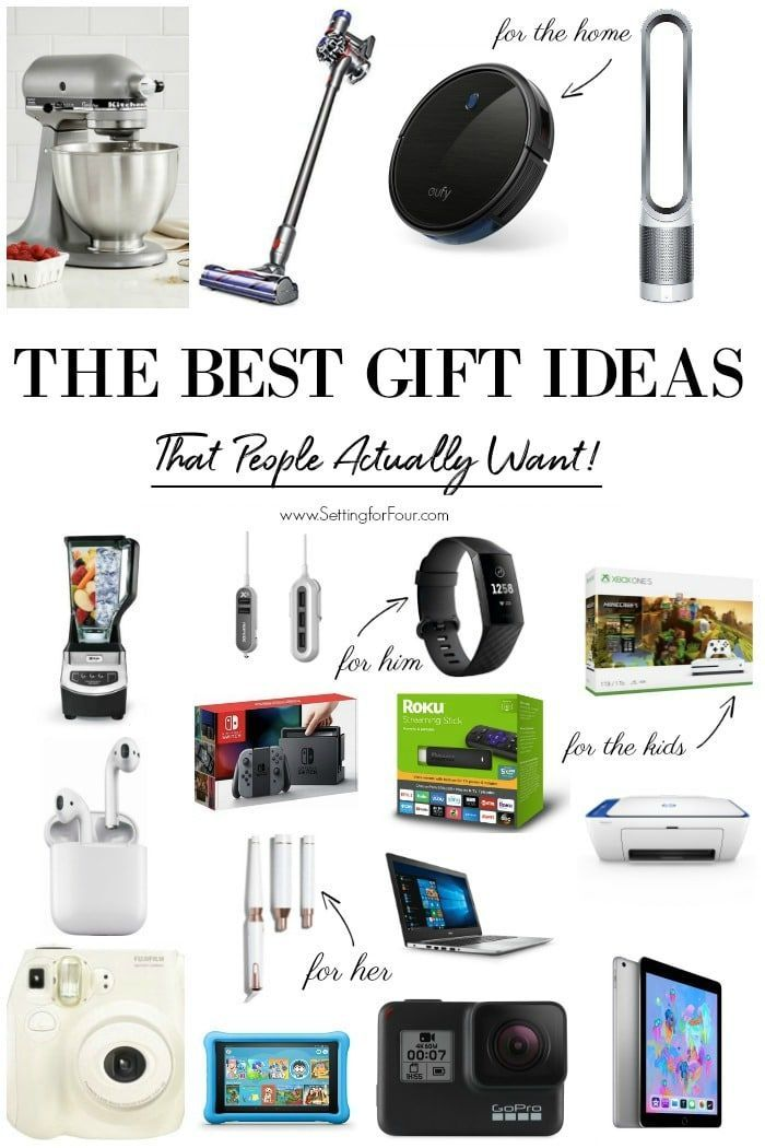 The Best Gift Ideas that people actually want! #giftideas #gifts #women #men #te...