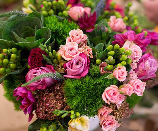 Our favorite bloggers share their bouquets and ideas for stunning arrangements -...