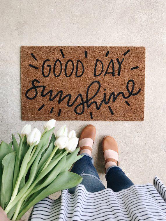 Good Day Sunshine Doormat