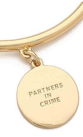 'Partners in Crime' bangle www.theperfectpal...