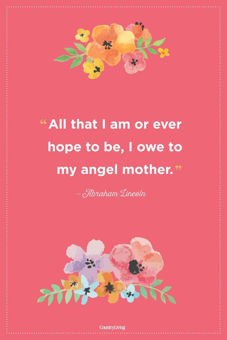 We all owe everything to our dear mothers.  #mothersday #quotes #love #inspirati...